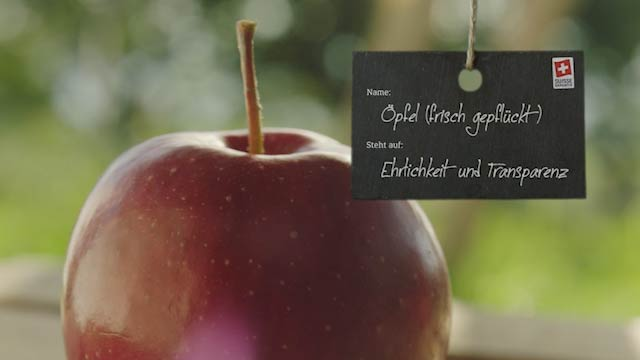Innere Werte, Apfel Agro-Marketing Suisse